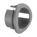 Adapter for mounting vertical balusters Ø12, 0 mm in the transverse pipe 33.7 mm
