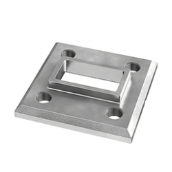 Mounting foot for profile 60x30 mm, AISI 316