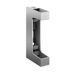 Mounting profile 60x30 mm wall + height adjustment, AISI 316